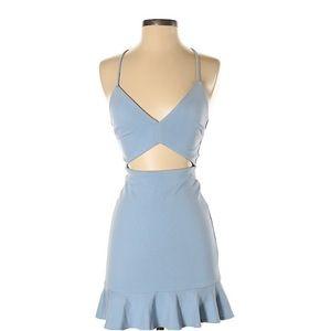 Lovers + Friends Blue Dress NWOT, XS